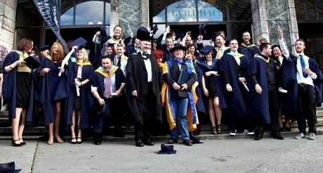 Record number of graduating students at Plymouth College of Art autumn graduation ceremony