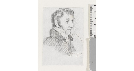 Probable portrait of Lord Byron, John Constable (1776-1837)