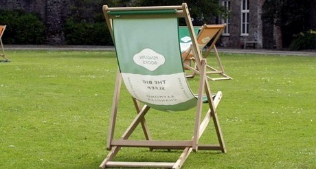 Literary Deck Chair at Ways With Words