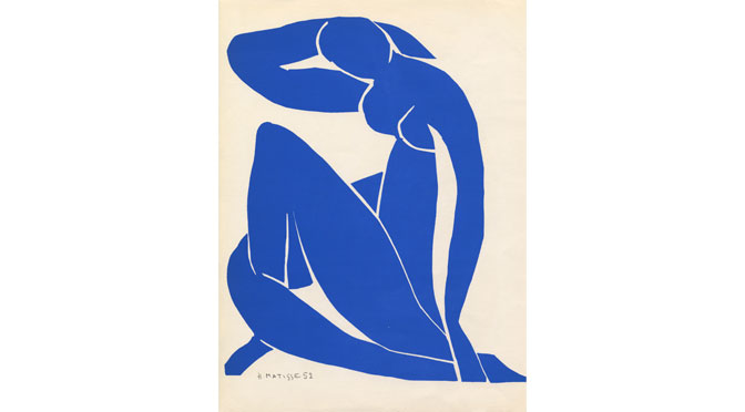 Matisse's Drawing with Scissors Hayward Touring exhibition at Thelma Hulbert gallery