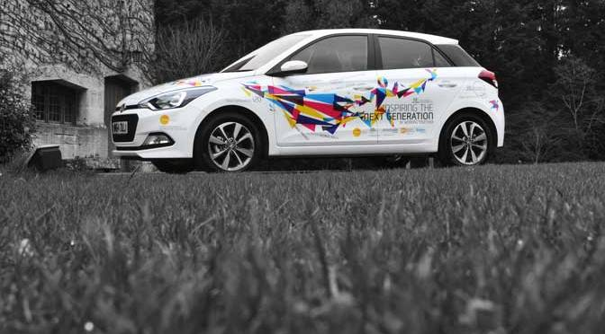 Bristol car dealership works with art students for real-life design experience