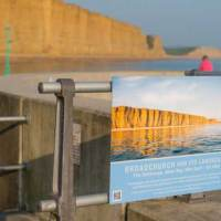 Broadchurch and the Jurassic Art Trail exhibitions in West Bay, Dorset