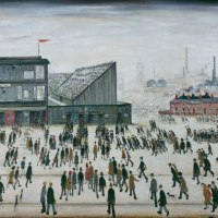 A new exhibition showcasing the work of LS Lowry opens at... The Lowry