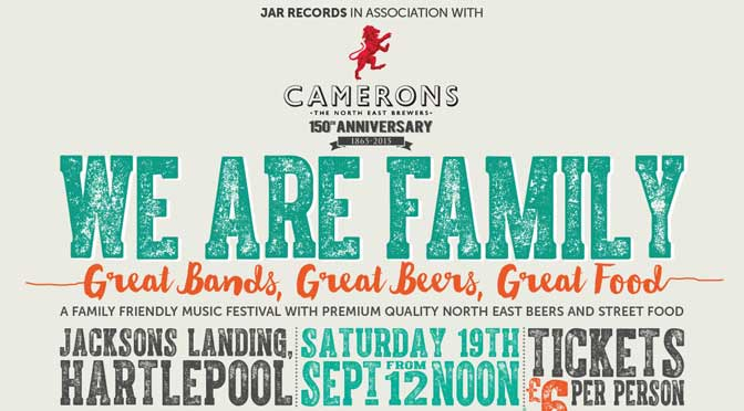 We Are Family: new music festival in Hartlepool