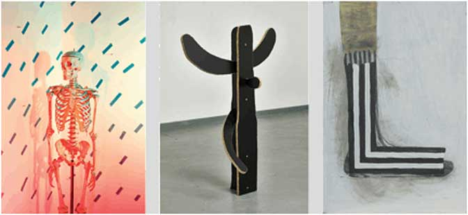 Jack Burton, Paul Merrick and Tom Pitt share Exeter Contemporary Open award
