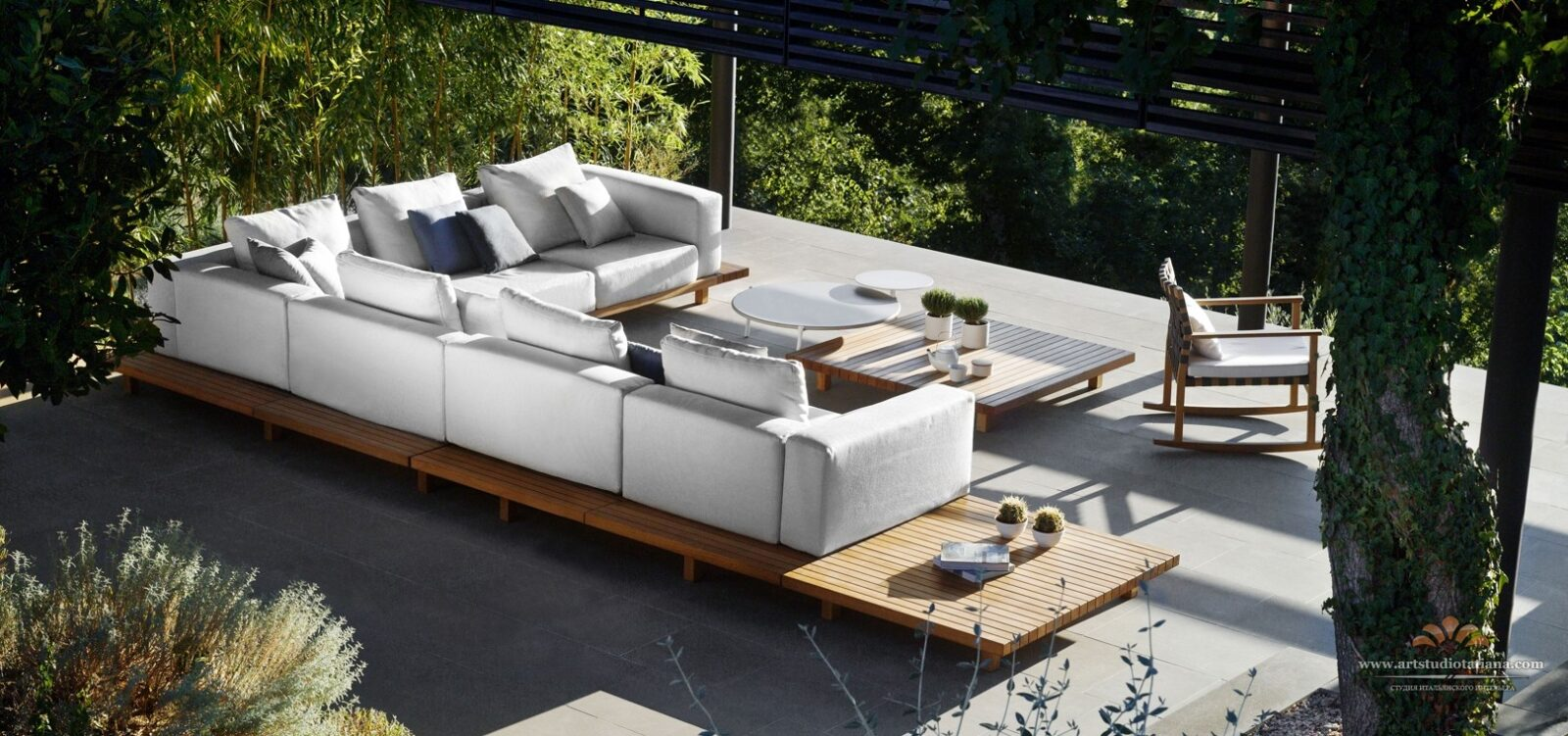 furniture chic high end teak modern outdoor of 5