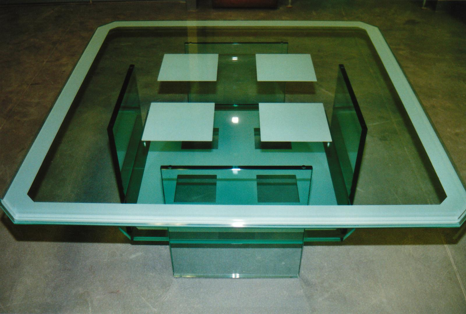 Protection Table Basse Table Basse En Verre Art Styl
