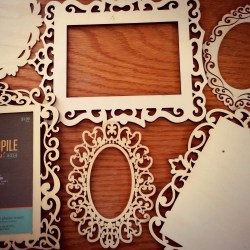 Laser Cut Wood Frames and Plaques • Art Supply Guide