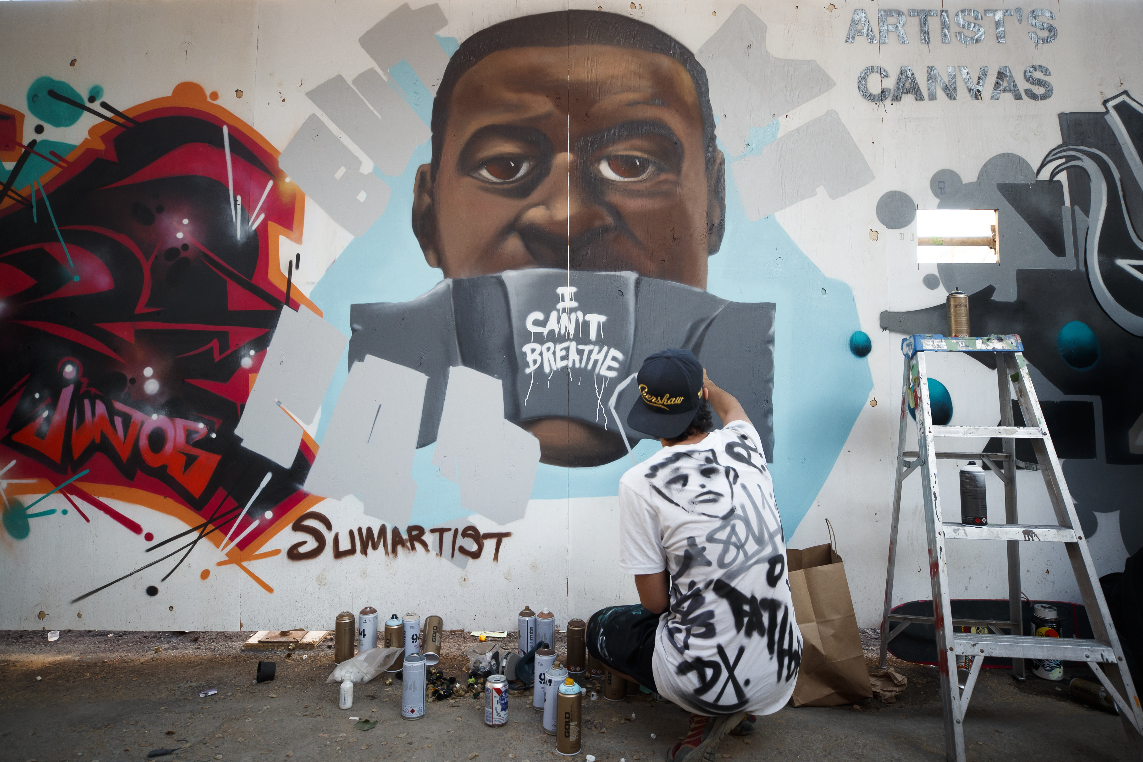 How Graffiti Artists Are Propelling The Vision Of The Black Lives Matter Movement Artsy