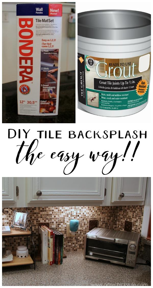kitchen tile backsplash artsy chicks rule kitchen tile backsplash