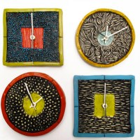 Friday Design Finds: Colorful Clocks & More