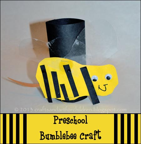 Preschool-bumblebee-craft