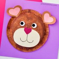 Bear Paper Plate Craft & Polar Bear Paper Plate Craft ~a ...