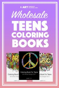 Wholesale Coloring Books for Teens - Art Therapy Coloring