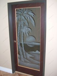 decorative glass doors