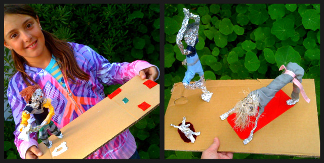 Foil Action Figures= Green Art (2/3)