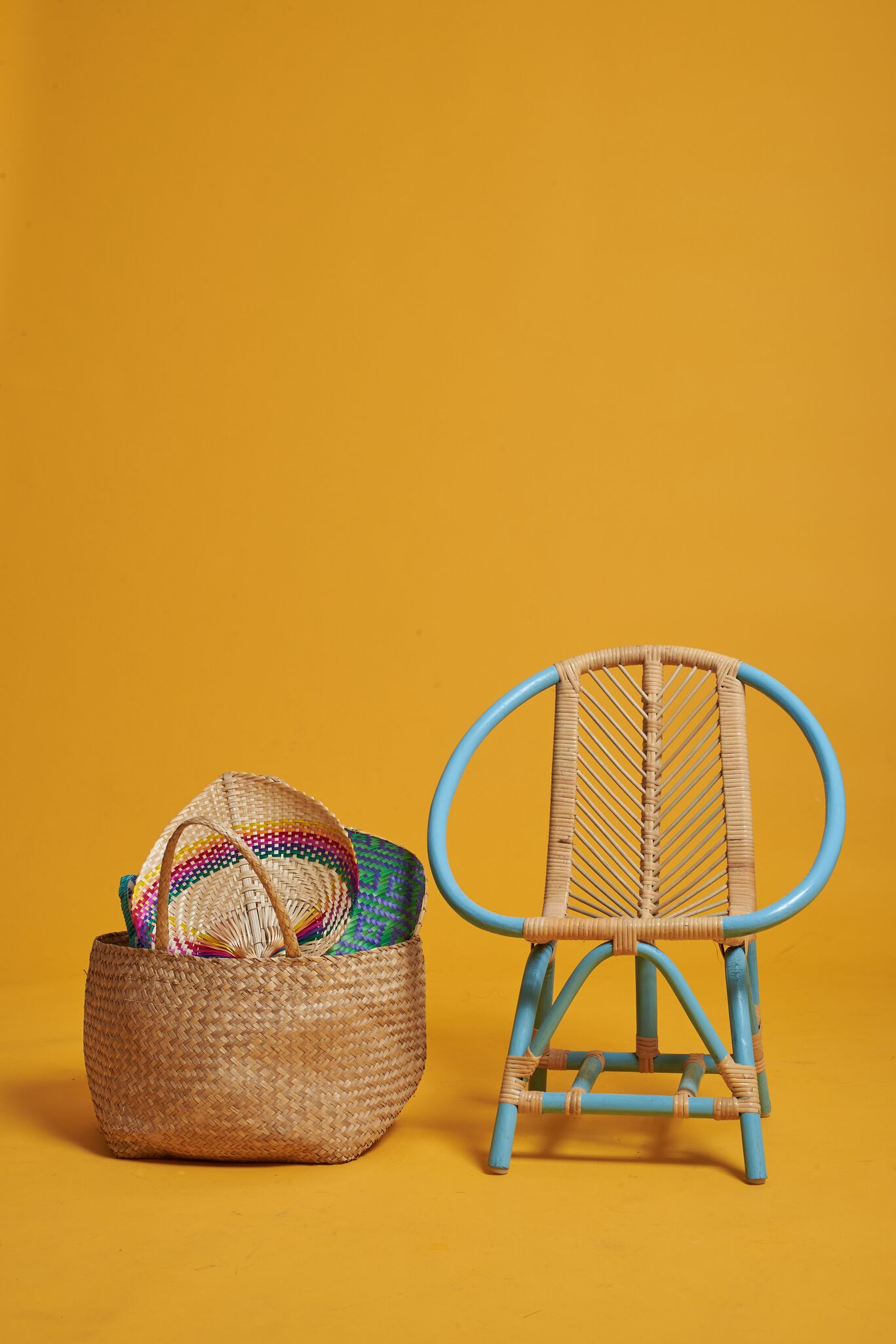 Tropical Kids Rattan Chair
