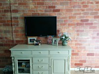 How to Paint Faux Brick Feature Wall | Faux Finishing by ...
