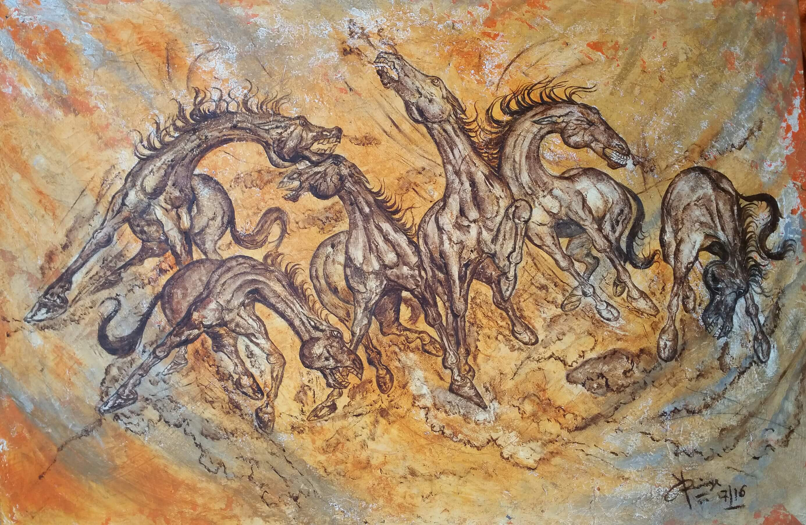Buy Paintings Online Buy Abstract Horse Paintings Online 39coven 39