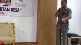 Foto 2. Eko Waskito Direktur G-cinDe menyampaikan sambutan