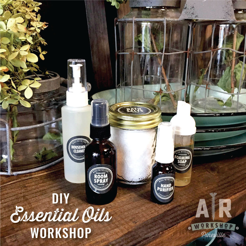 Diy Soap Essential Oils Essential Oils Diy Workshop Make And Take