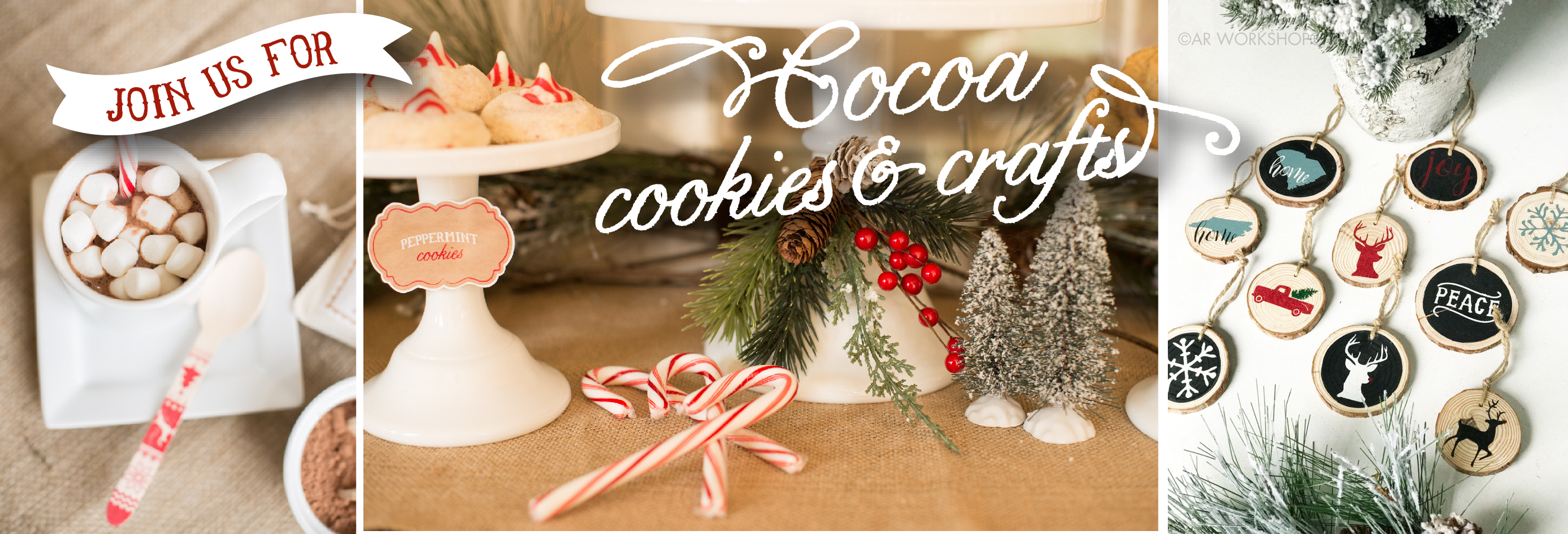 Things For Kids To Do In Charlotte Cocoa Cookies Crafts Diy Holiday Ornaments Session 3 Sold