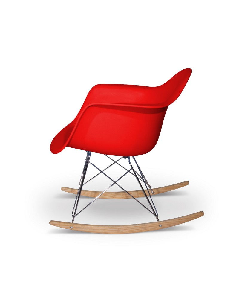 Eames Replica Eames Rocking Chair Replica Red Aryana Home