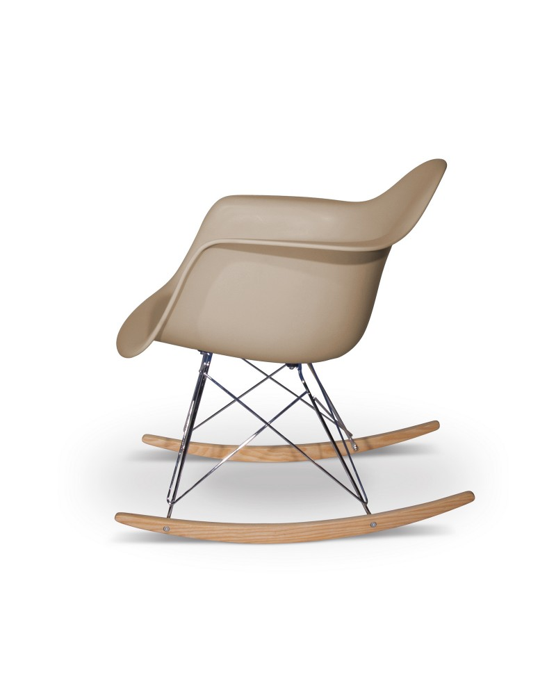 Eames Chair Beige Eames Rocking Chair Replica Beige Aryana Home
