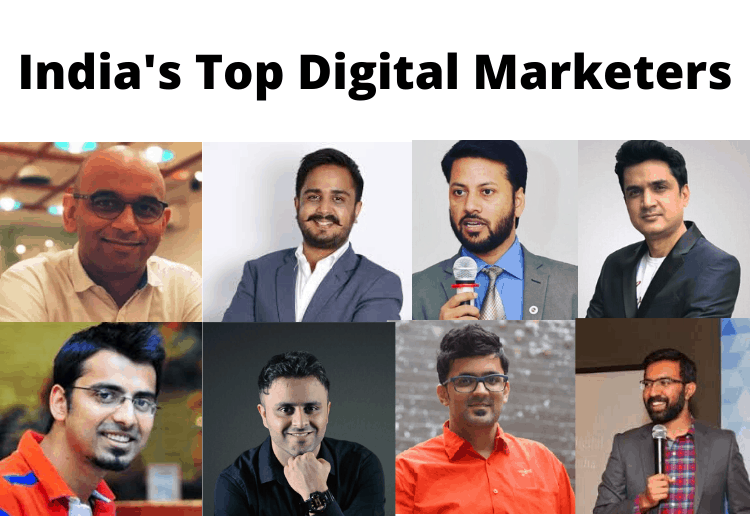 Top 印度n Digital Marketers