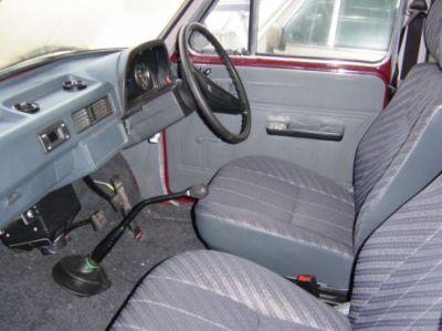 Ambassador Car Interior