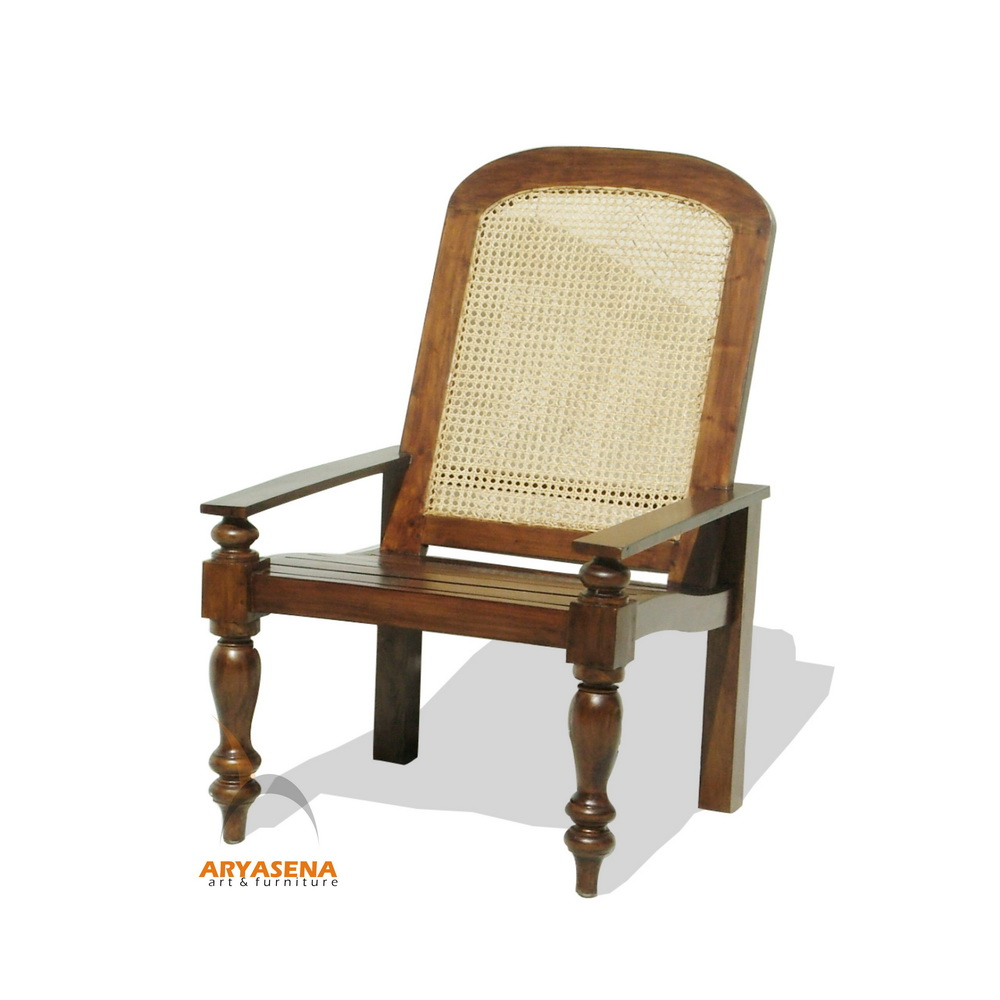 Valencia Relax Chair With Wooden Seat And Back Cane Lgch 05