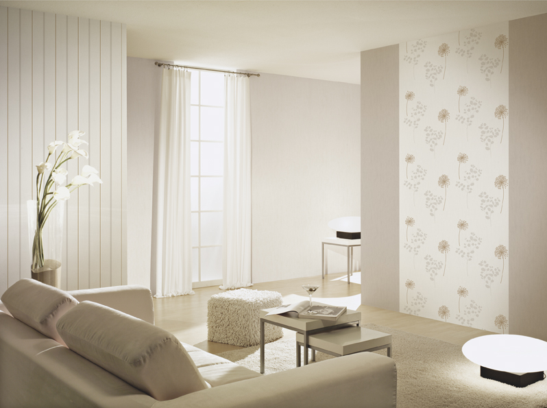 Beige Behang Autumn Collections 2012 - A.s. Création Tapeten Ag