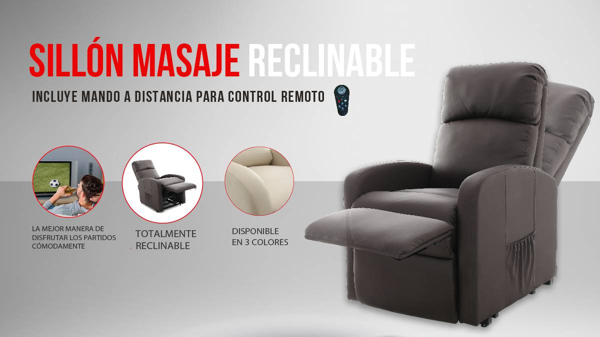 Sillones Relax Con Masaje Sillones Relax As
