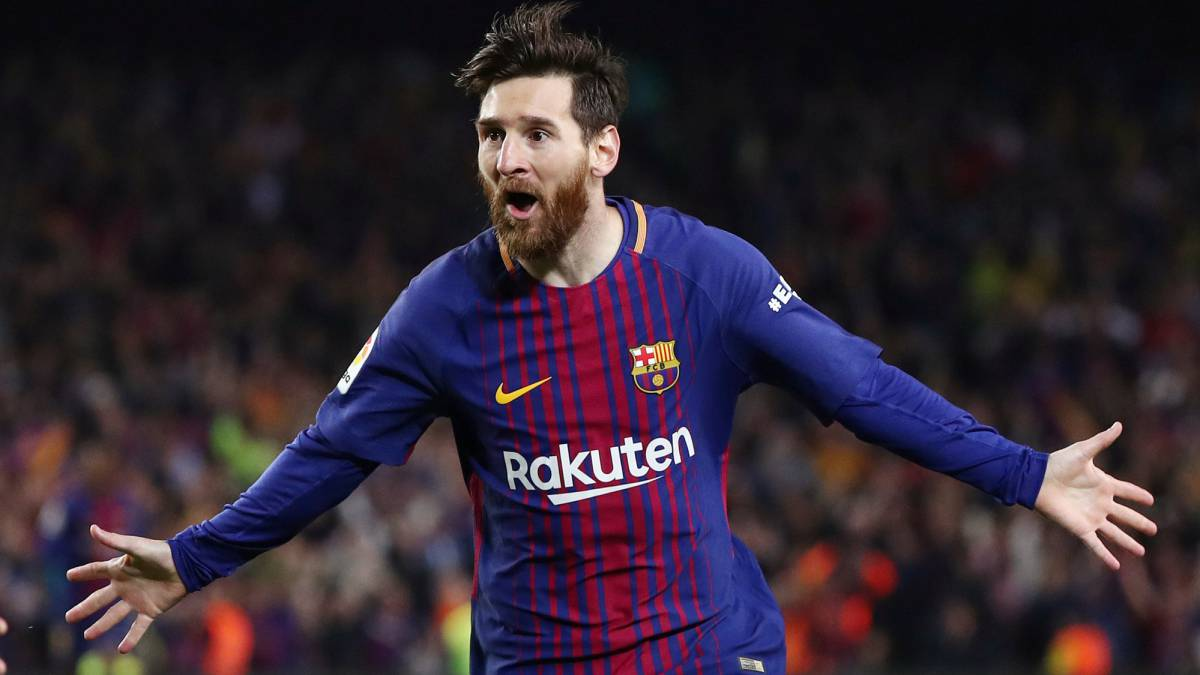 Leo Messi The Lionel Messi Trophy Tebas Open To Idea For Laliga S Best