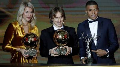 The 2018 Ballon d'Or ceremony as it unfolded in Paris - AS.com