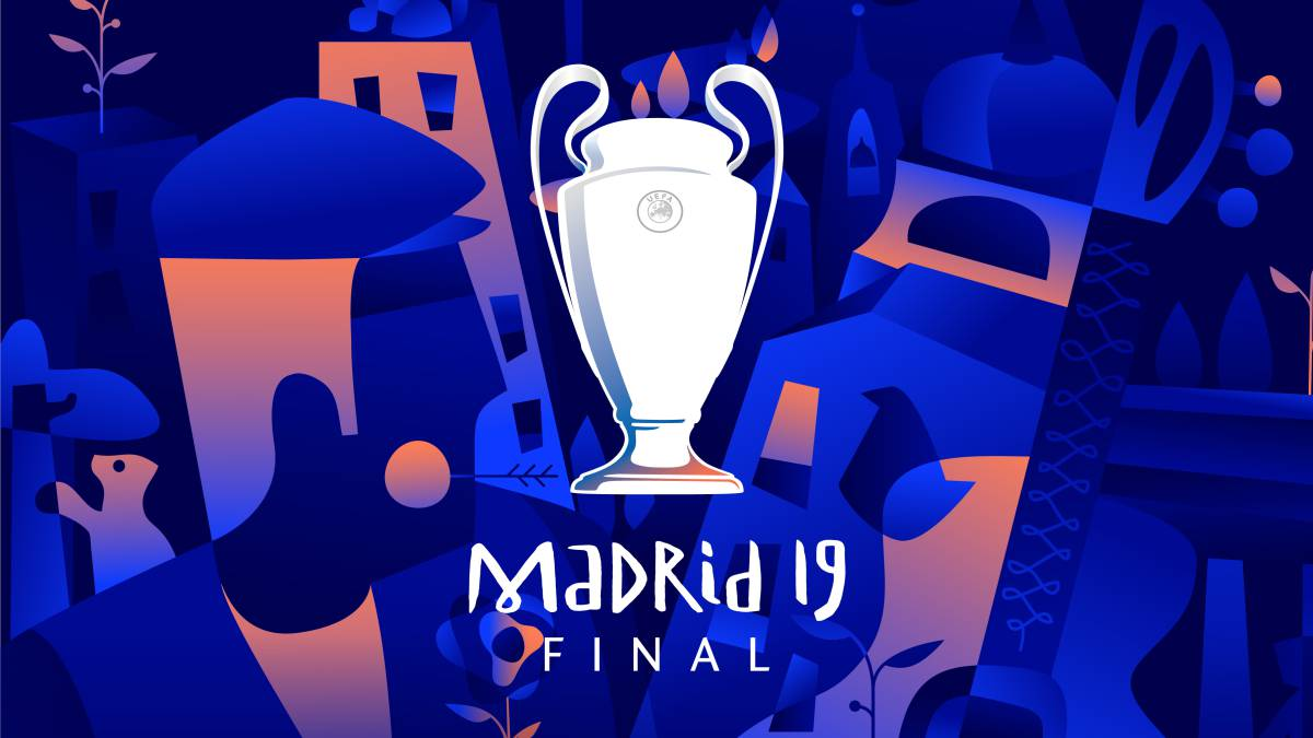 Arte Final English Uefa Unveil Madrid Final Champions League Poster As
