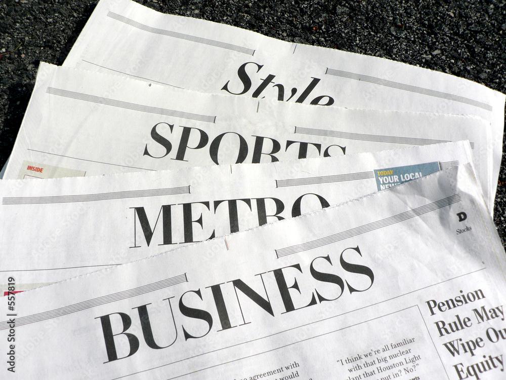 Fotografía newspaper - newspaper sections Europosterses