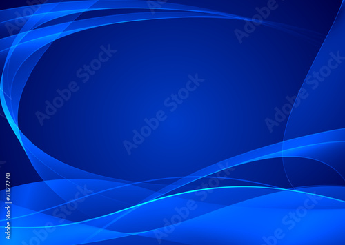 abstract blue artistic background - Buy this stock illustration and