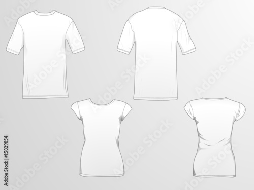 T-Shirt templates - Buy this stock vector and explore similar