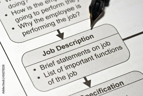 job description - Buy this stock photo and explore similar images at - Stock Job Description