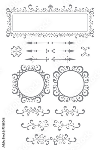Book Plates And Frames - Buy this stock vector and explore similar