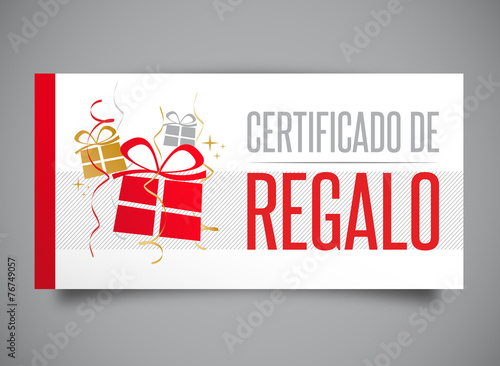 Certificado de regalo - Buy this stock vector and explore similar