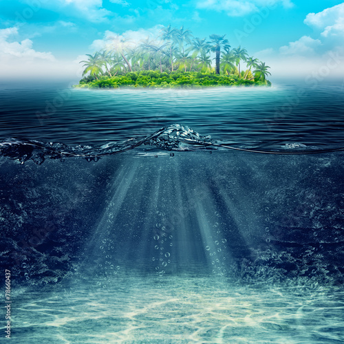 Underwater Abstract vacation backgrounds for your design - Buy this