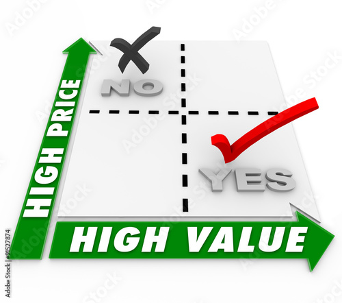 Low Price High Value Matrix Choices Shopping Comparison Products - value matrix
