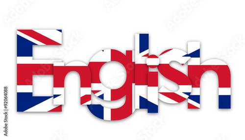 ENGLISH\ - word flag