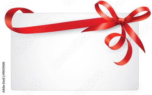 Blank gift card - Buy this stock photo and explore similar images at