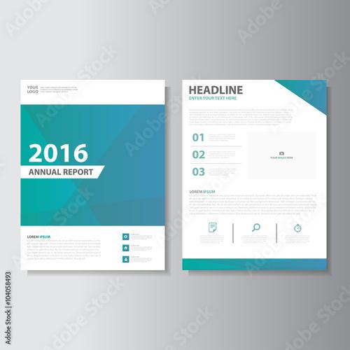 Vector Leaflet Brochure Flyer template A4 size design, book cover
