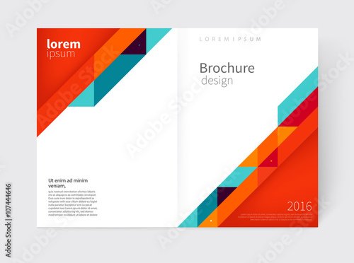 Cover design Brochure, flyer, annual report cover template a3 size