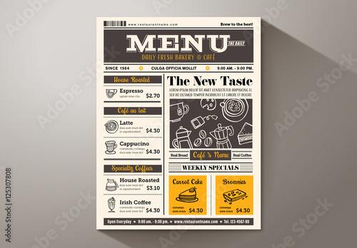 newspaper template adobe