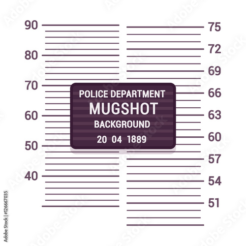 Mugshot background template - Buy this stock vector and explore